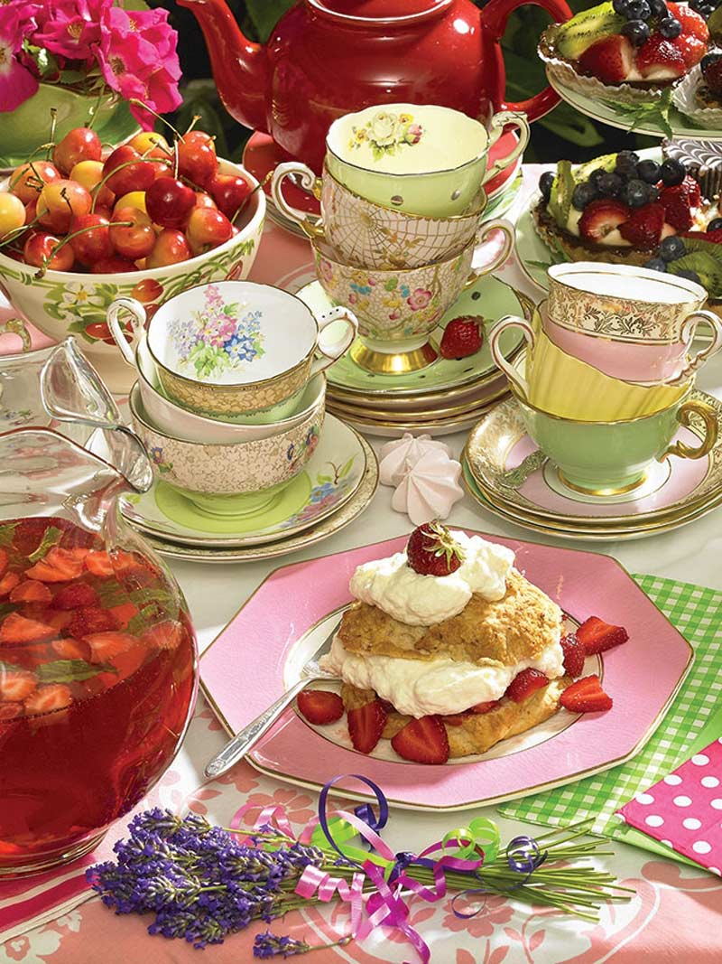 Strawberry Tea Food and Drink Jigsaw Puzzle