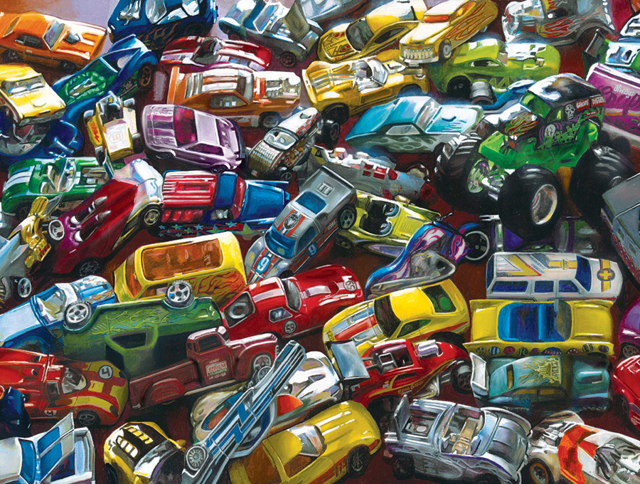 Crash - Scratch and Dent Cars Jigsaw Puzzle