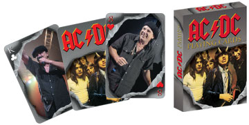 AC/DC (Playing Cards) Famous People