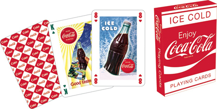 Coca-Cola Red Playing Cards Coca Cola Playing Cards