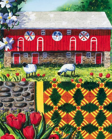 Welcome Quilt Quilting & Crafts Jigsaw Puzzle