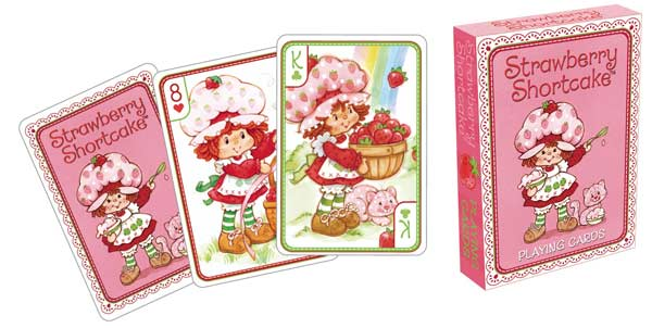 Playing Cards - Strawberry Shortcake Nostalgic / Retro Playing Cards
