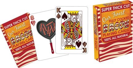 Bacon (Playing Cards) Food and Drink Playing Cards
