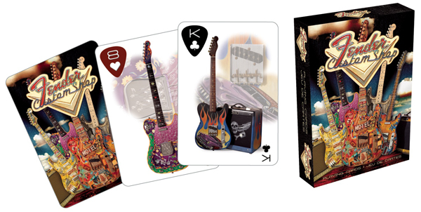 Playing Cards - Fender Americana Playing Cards