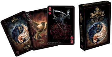Alchemy - Black Bilingual (Playing Cards) Movies / Books / TV Playing Cards