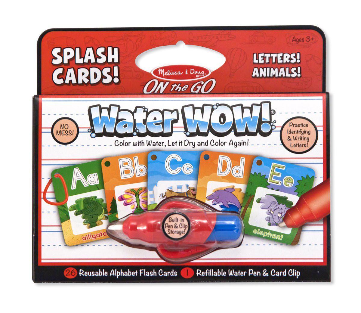 Alphabet Splash Cards