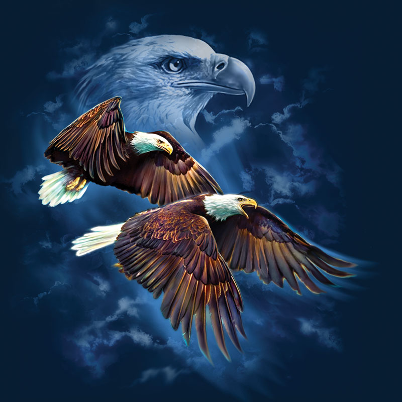 Eagle Spirit Eagles Jigsaw Puzzle