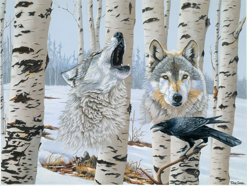 Spirit of Isle Royal Wolves Jigsaw Puzzle
