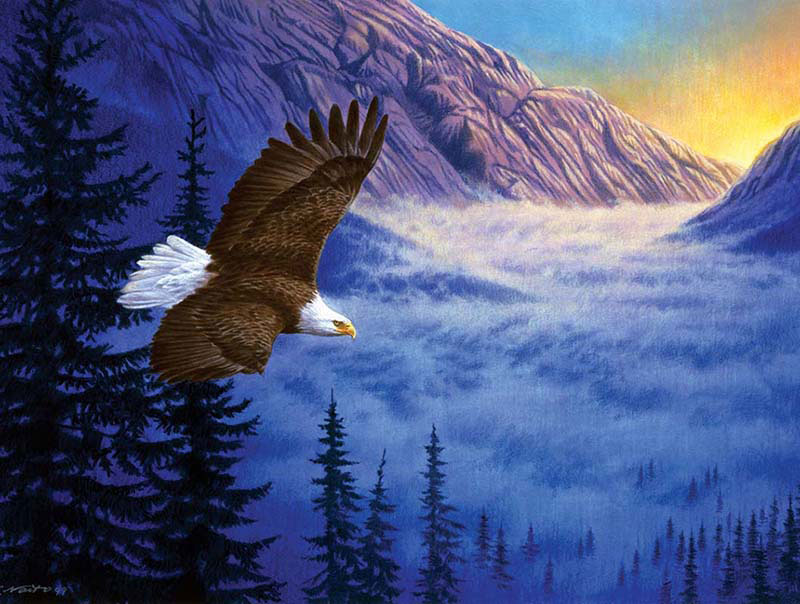 Soaring High Eagles Jigsaw Puzzle