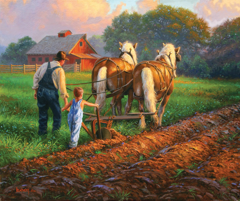 You've Got What it Takes Farm Jigsaw Puzzle