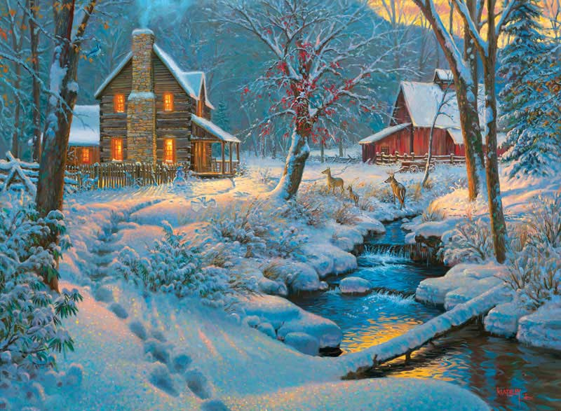 Warm and Cozy Winter Jigsaw Puzzle