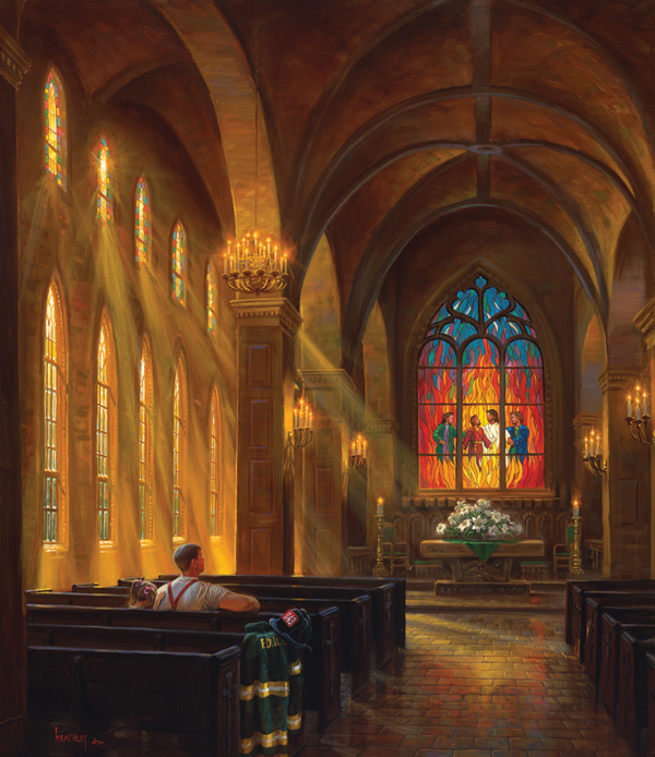 Perfect Refuge Churches Jigsaw Puzzle