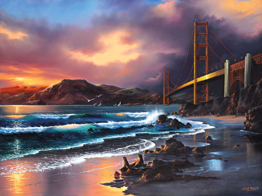 California Gold Beach Jigsaw Puzzle