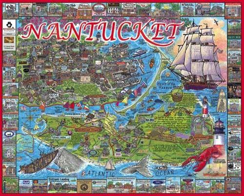Nantucket, MA Landmarks / Monuments Jigsaw Puzzle