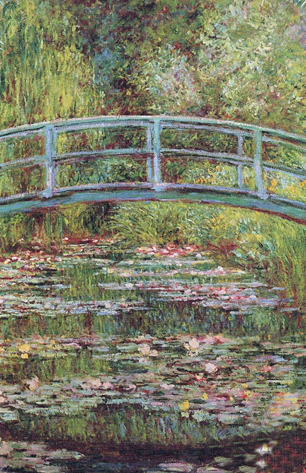 The Japanese Bridge - Monet Impressionism Jigsaw Puzzle