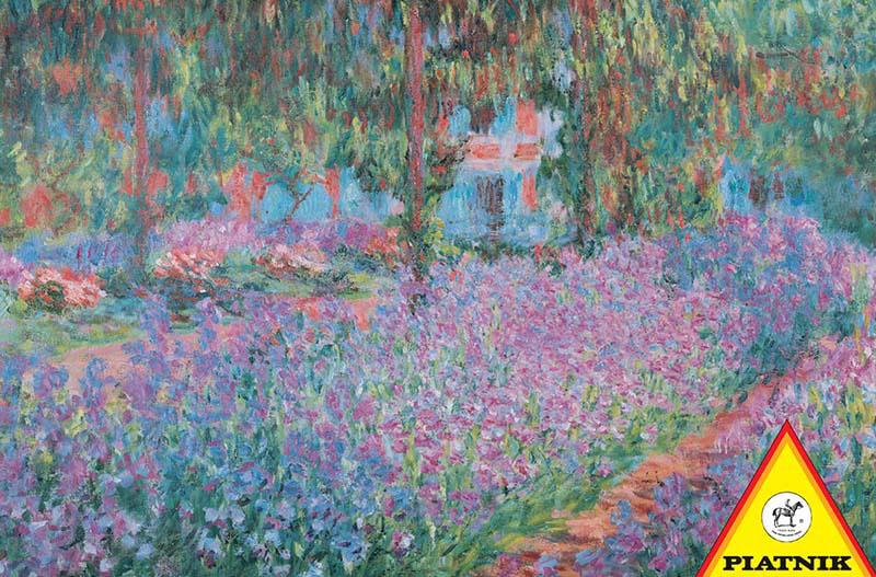 Garden, Claude Monet Impressionism Jigsaw Puzzle
