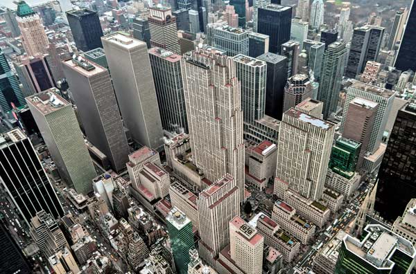 New York City Skyview Cities Jigsaw Puzzle