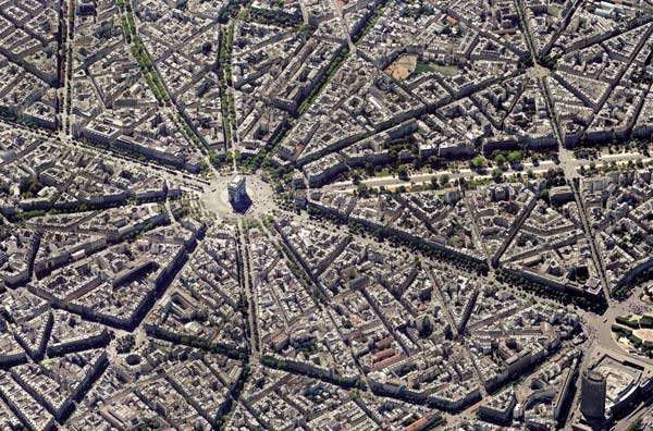 Paris Skyview Cities Jigsaw Puzzle