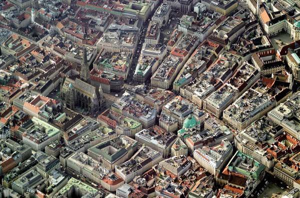 Vienna Skyview Europe Jigsaw Puzzle