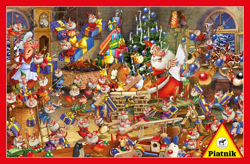 Christmas Chaos Cartoons Jigsaw Puzzle