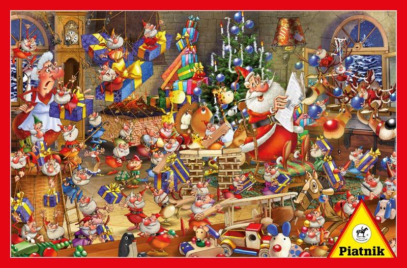 Christmas Chaos Jigsaw Puzzle Puzzlewarehouse Com