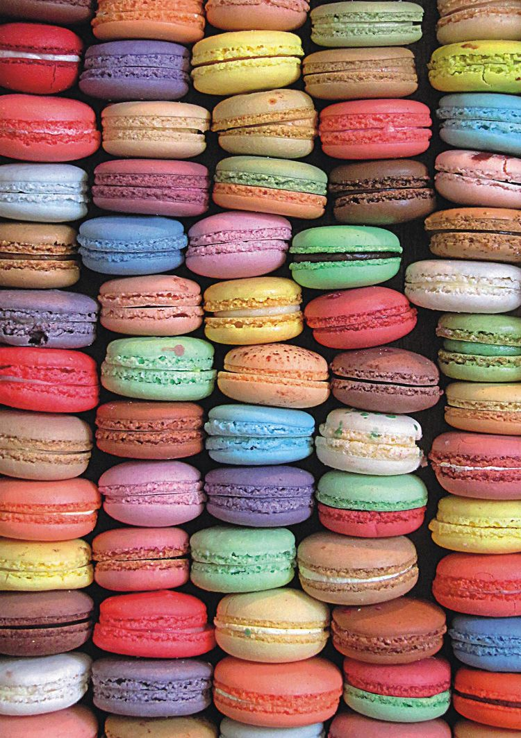 Macaroons - Scratch and Dent Food and Drink Jigsaw Puzzle