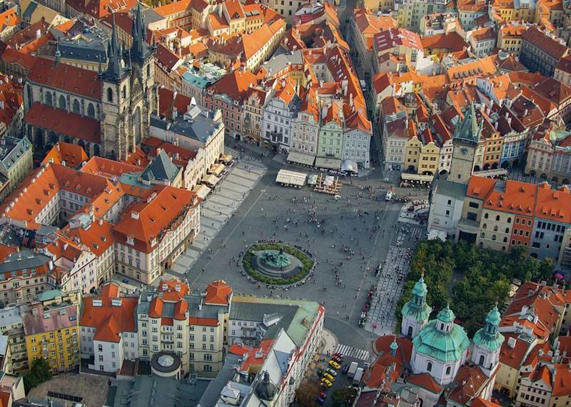 Prague - Scratch and Dent Landmarks / Monuments Jigsaw Puzzle