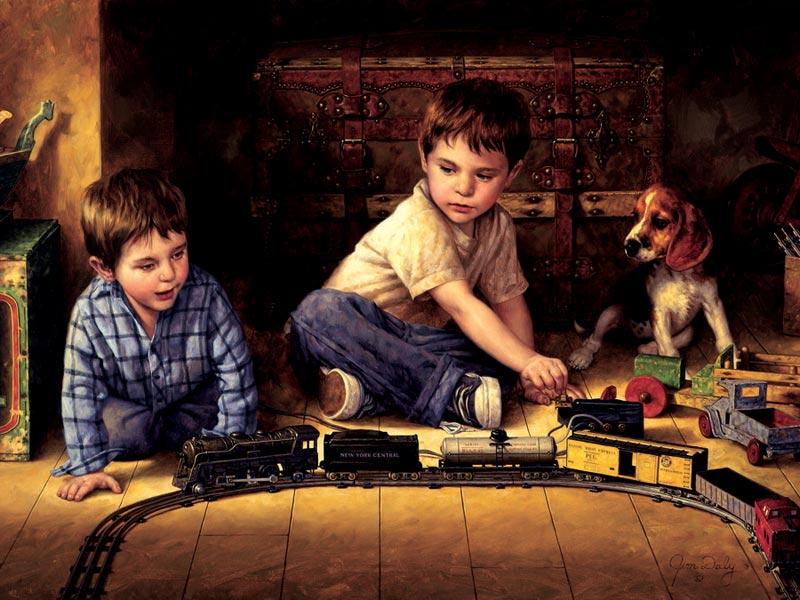 Attic Treasure Mother's Day Children's Puzzles