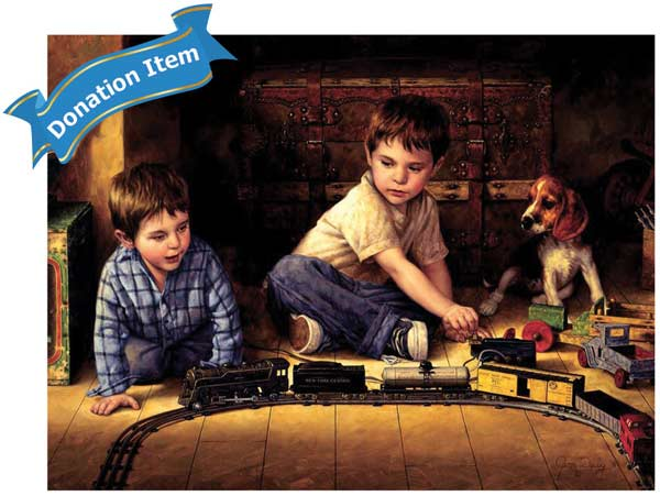 Life Skills - Attic Treasure Trains Jigsaw Puzzle