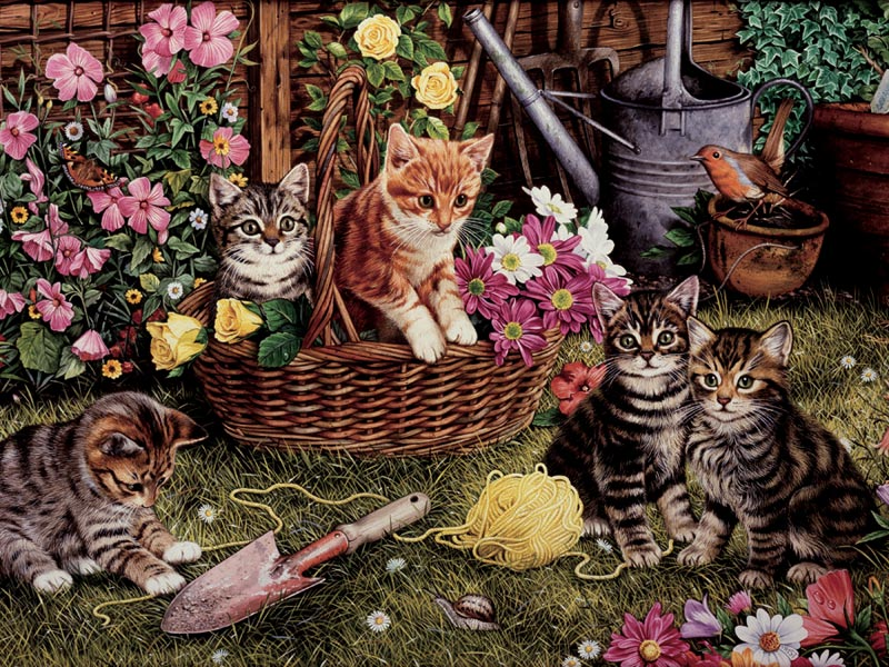 Kittens Cats Children's Puzzles