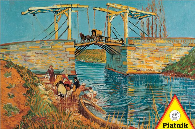 Draw Bridge - Van Gogh Impressionism Jigsaw Puzzle