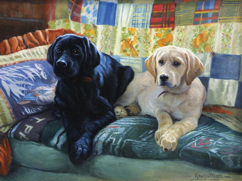 Our Couch - Scratch and Dent Dogs Jigsaw Puzzle