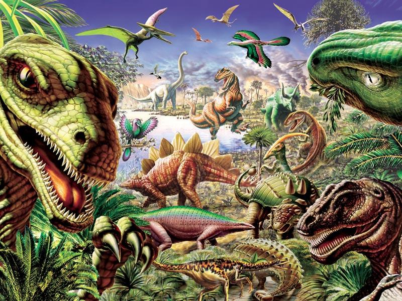Dinoland Dinosaurs Jigsaw Puzzle