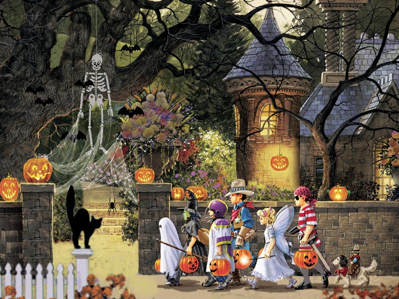Halloween Buddies Halloween Jigsaw Puzzle