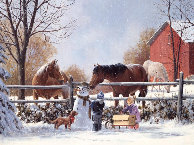 Frosty's Friends Horses Children's Puzzles