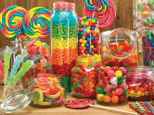 Enough Candy for Everyone Food and Drink Children's Puzzles