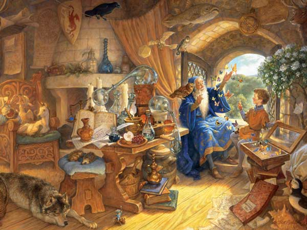 Merlin and Arthur Fantasy Children's Puzzles