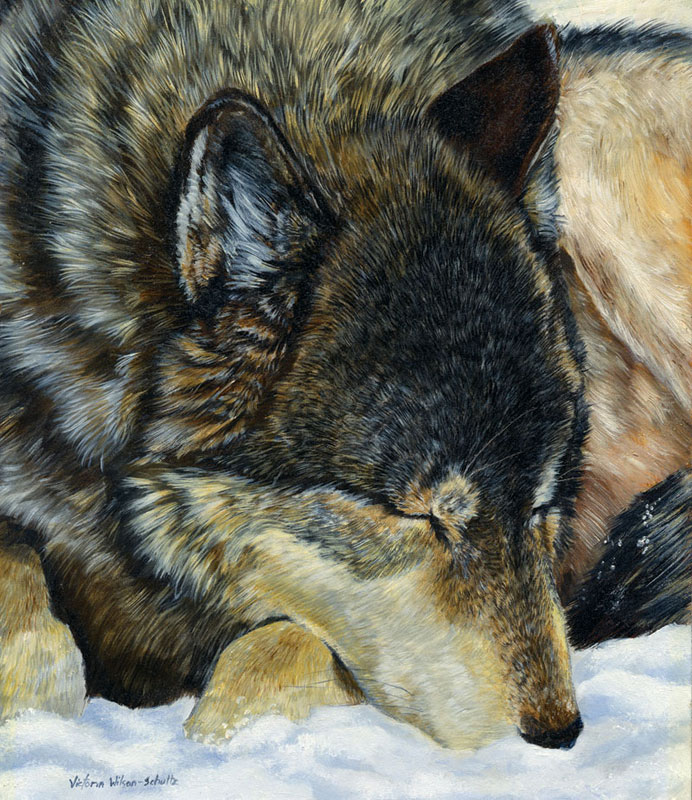 A Moment's Rest Wolves Jigsaw Puzzle
