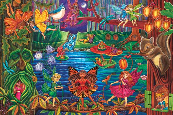 Fairy Forest Fairies Children's Puzzles