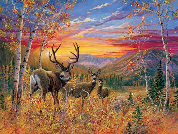 Maker of Dreams Deer Jigsaw Puzzle