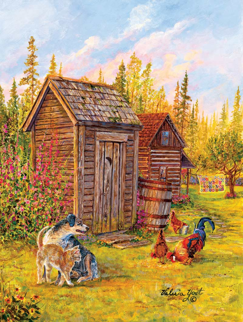 Country Patchwork Jigsaw Puzzle Puzzlewarehouse Com