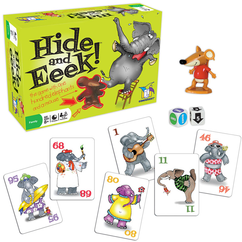 Hide and Eeek! Memory Games