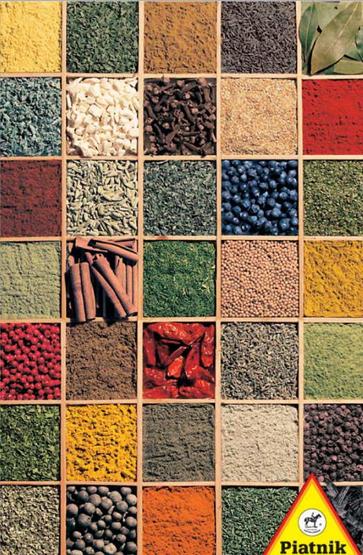 Spices Collage Jigsaw Puzzle