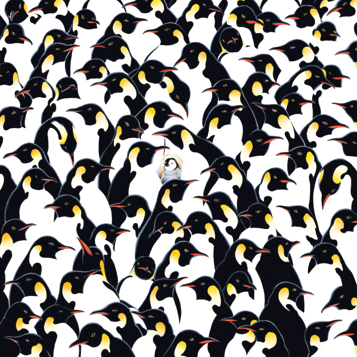 World's Most Difficult Jigsaw Puzzle - Penguins Animals Jigsaw Puzzle