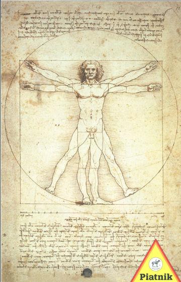 Proportions Leonardo Da Vinci Jigsaw Puzzle