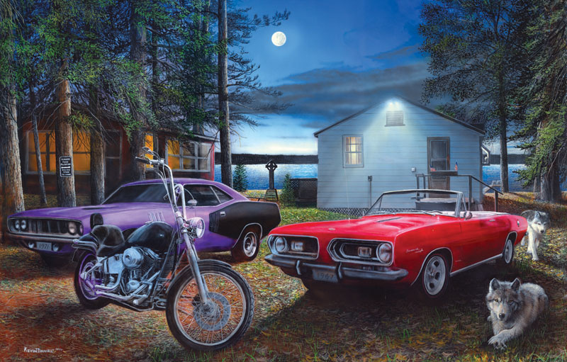 Runners Cars Jigsaw Puzzle