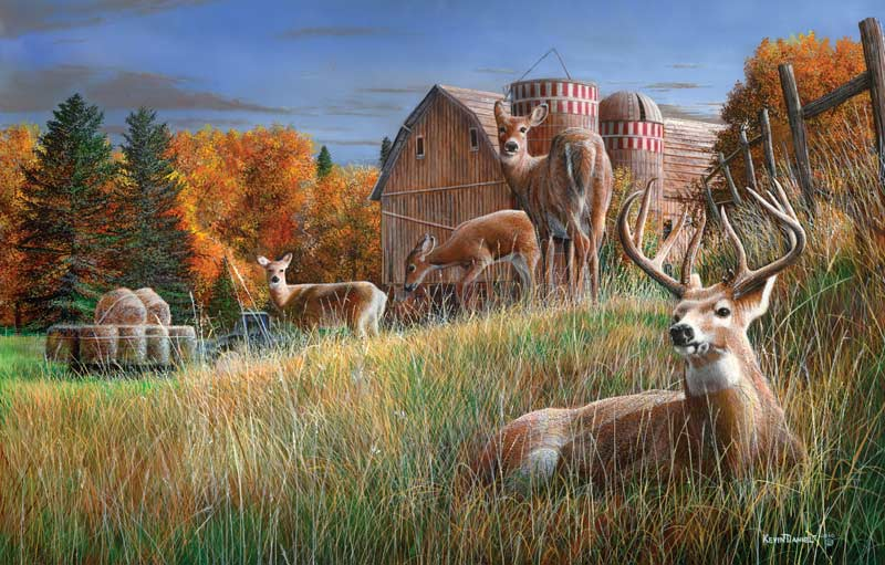 Autumn Respite Fall Jigsaw Puzzle