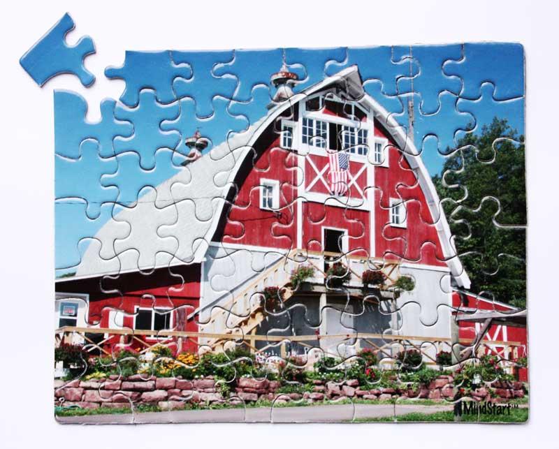 Barn Farm Jigsaw Puzzle
