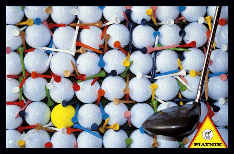 Golf Balls Sports Jigsaw Puzzle