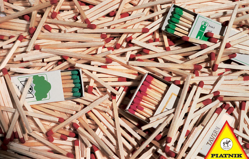 Matches Everyday Objects Jigsaw Puzzle